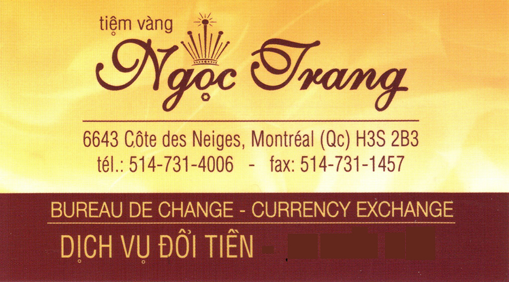 Tiem Vang Ngoc Trang