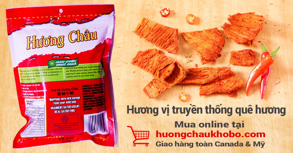Huong Chau Kho Bo after post